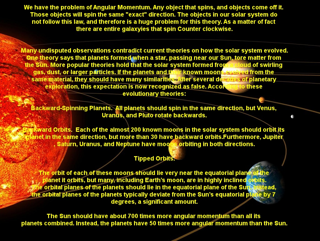 Solar System Formation - Picture | eBaum's World