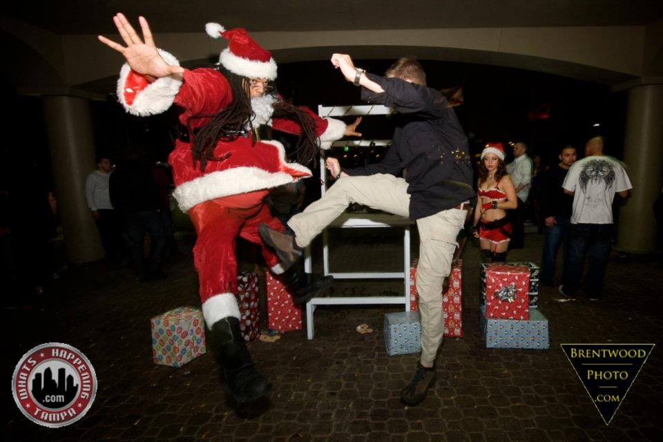 kick the santa