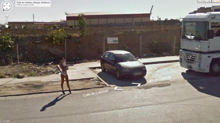 prostituées sur google street view