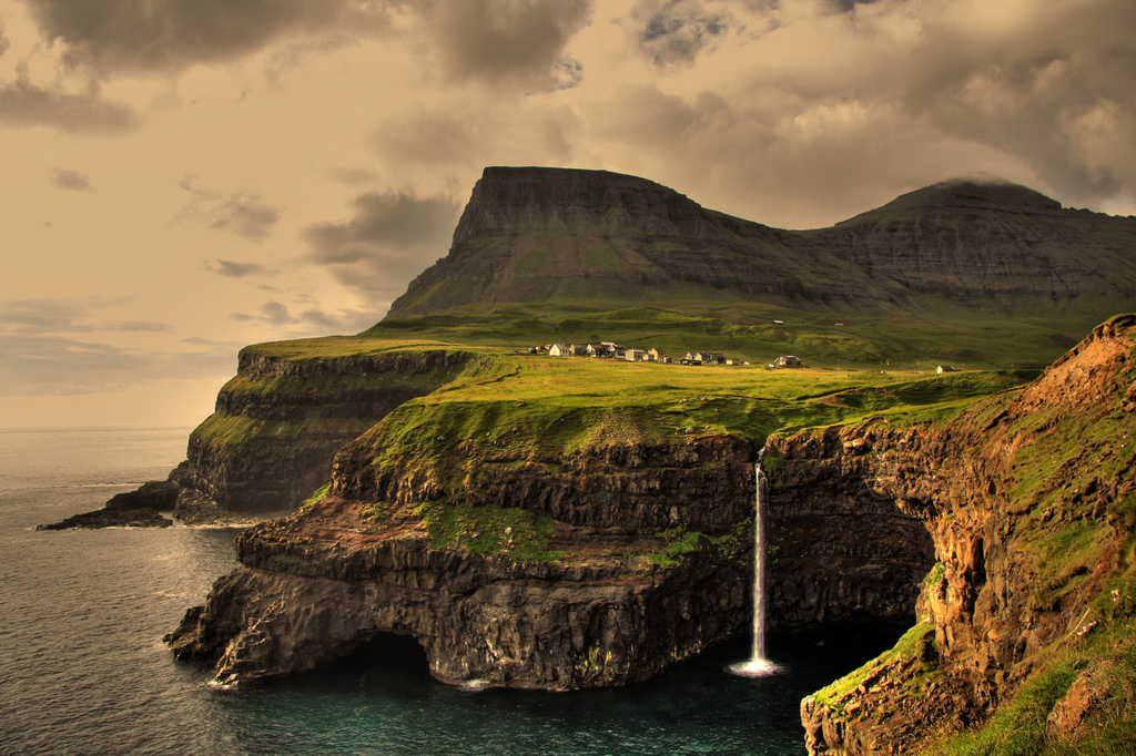 1 - Gasadalur Village in the Faroe Islands