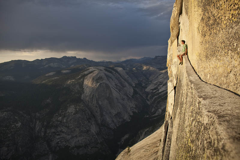 13 - Alex Honnold half dome Yosemite free soloing with no rope