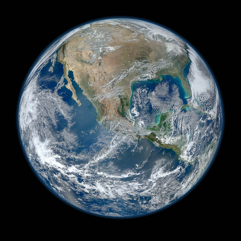 15 - The biggest image of earth ever
