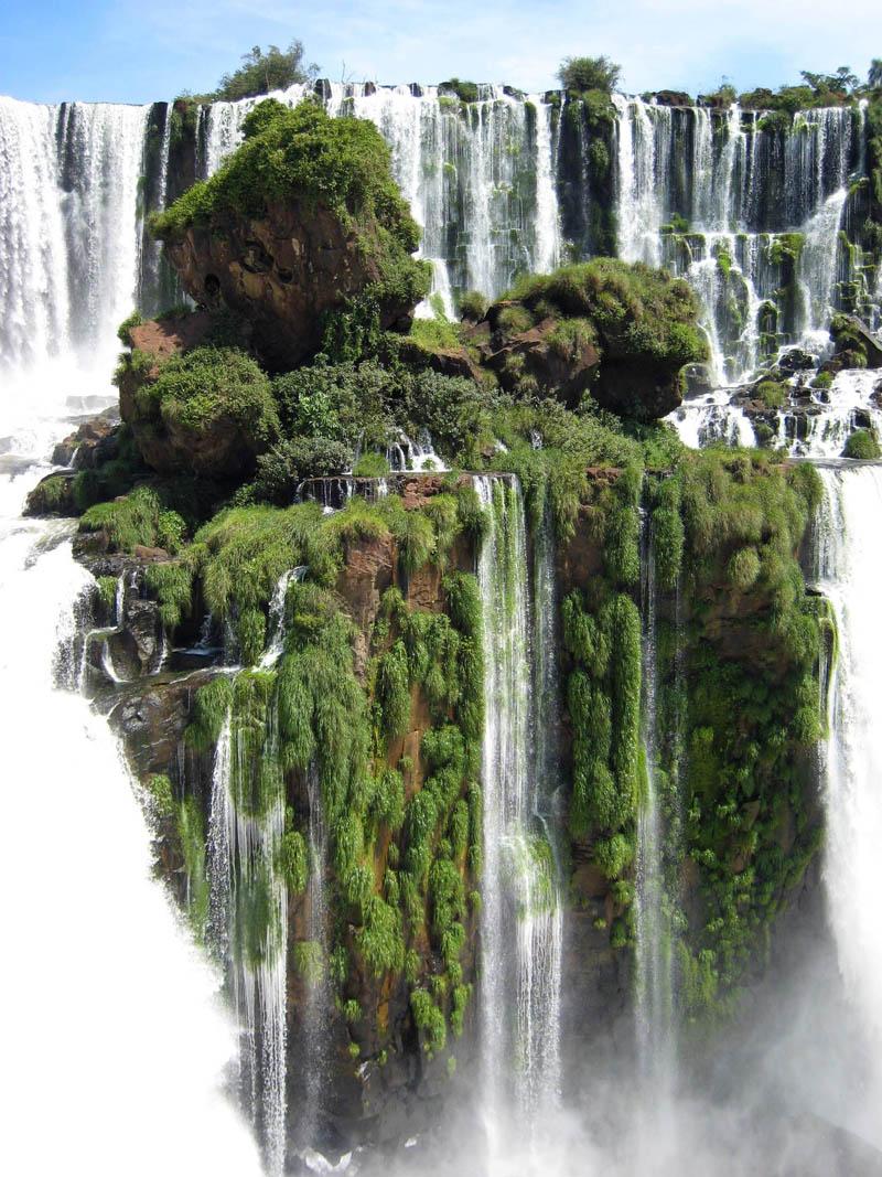 24 - Iguazu Falls Waterfall Island