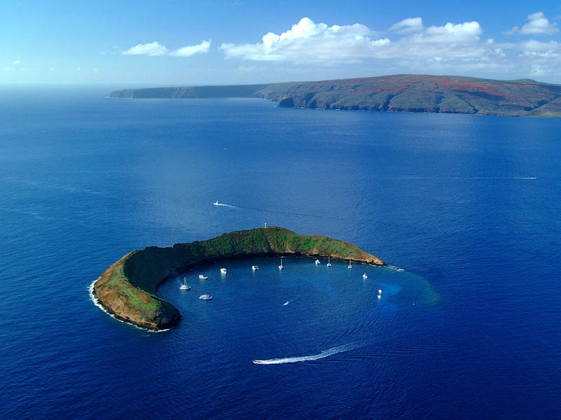 29 - Molokini Crescent Shaped Crater Maui Hawaii