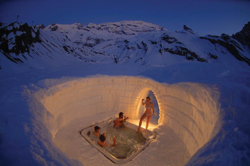 35 - Outdoor Hot-tub in the Matterhorn Mountains