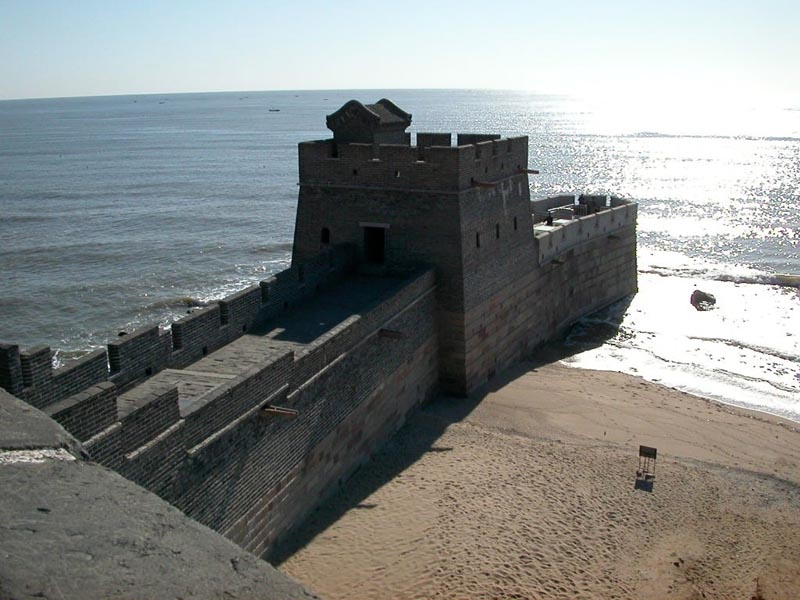 48 - Where The Great Wall ends at sea Shanhai Pass - Shanhaiguan