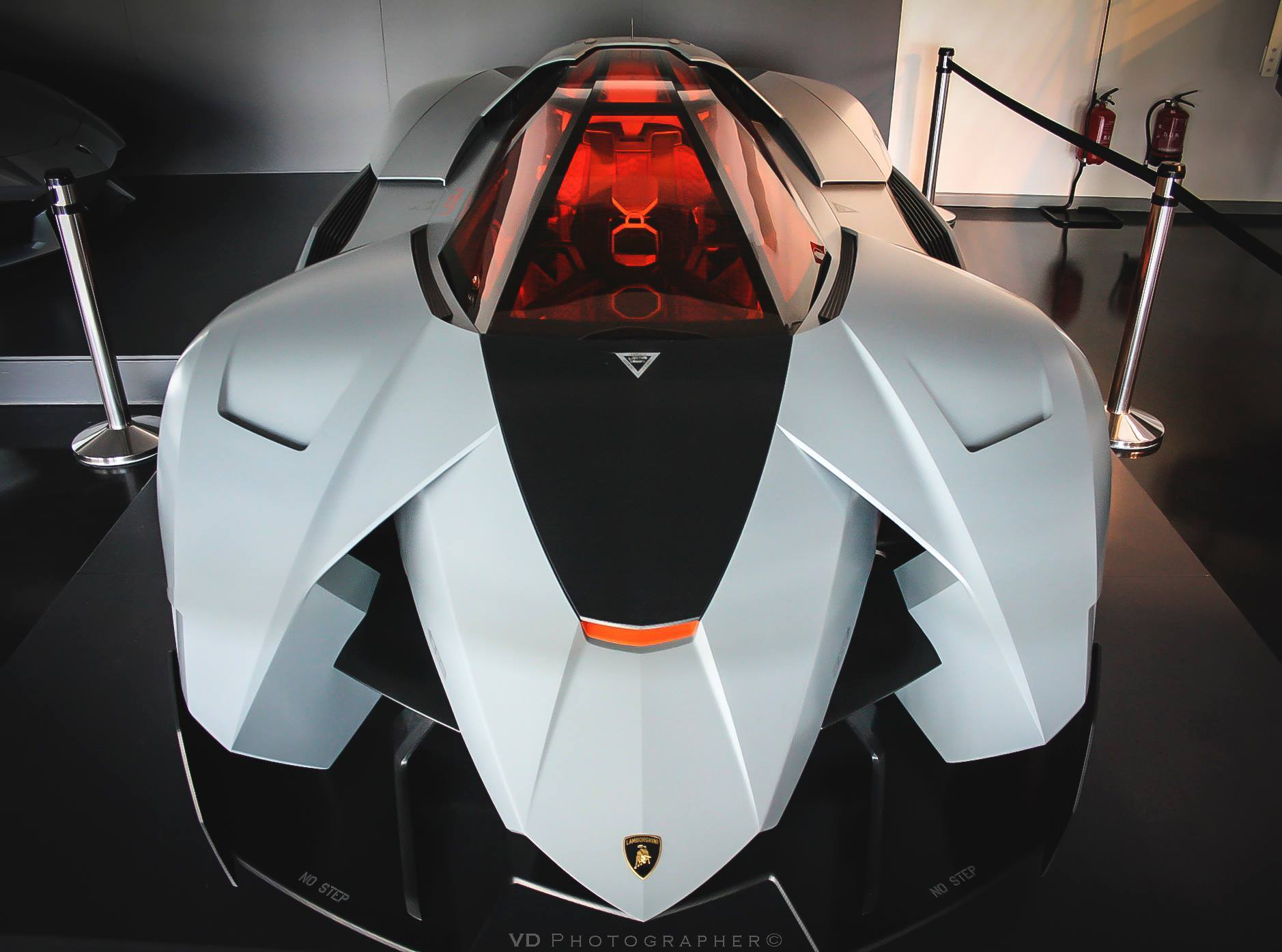 1   Lamborghini Egoista Only 1 Was Made!