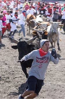 27 - Running of the bulls