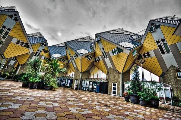 4 - Cube Houses Netherlands