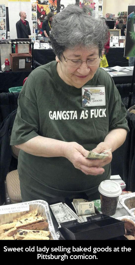 26 badass old people who just don't care! - pop culture gallery