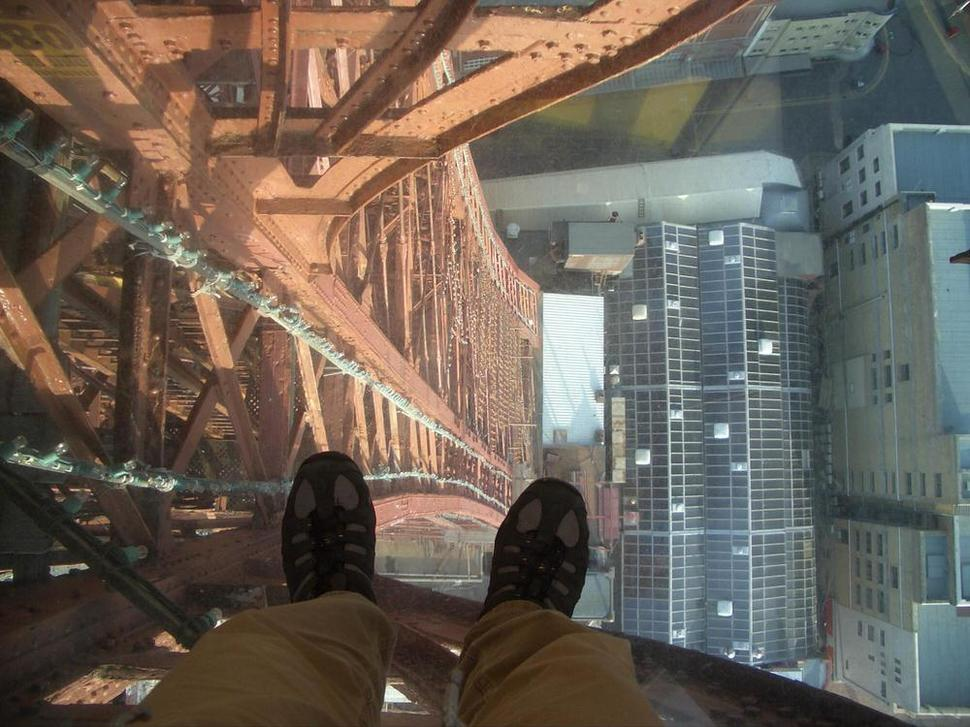 Most Terrifying Places In The World To Look Down From Wow - 18 places around world will leave terrified heights