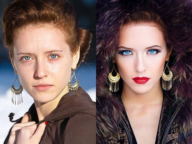 19 Miracle Makeup Transformations! - Gallery | eBaum's World