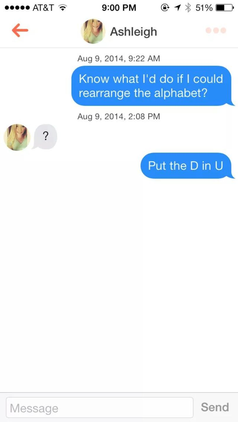 Tinder greetings