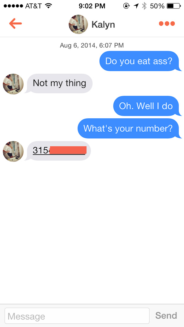 Do pick up lines work