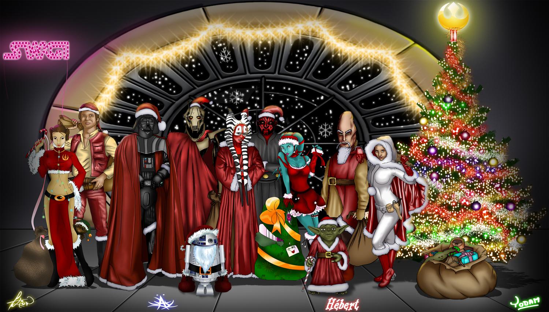 #2B6819 33 Times People Celebrated A Star Wars Christmas  5515 decorations de noel star wars 1500x854 px @ aertt.com