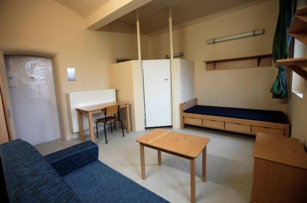 10 - JVA Fuhlsbuettel Prison, Germany: JVA Fuhlbuettel is Hamburg's luxury prison for long-serving inmates. Renovated and reopened in 2011, the spacious cells include a bed, couch, and the disgusting sounding combination shower and toilet. Prisoners have laundry machines and a small conference room for reenacting their favorite episodes of The Office, or whatever.