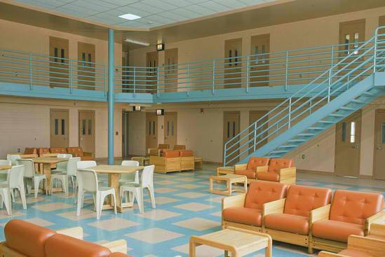 15 - Mahanoy State Correctional Institution, Pennsylvania: The nonviolent offenders of Mahanoy enjoy everything from lounge furniture to outdoor football fields, and they might even be getting iPads soon.