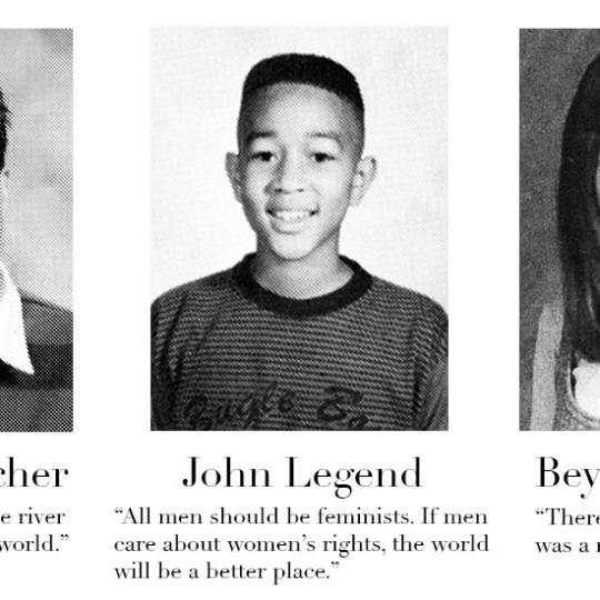 A Selection of Famous People's Yearbook Quotes – Flavorwire