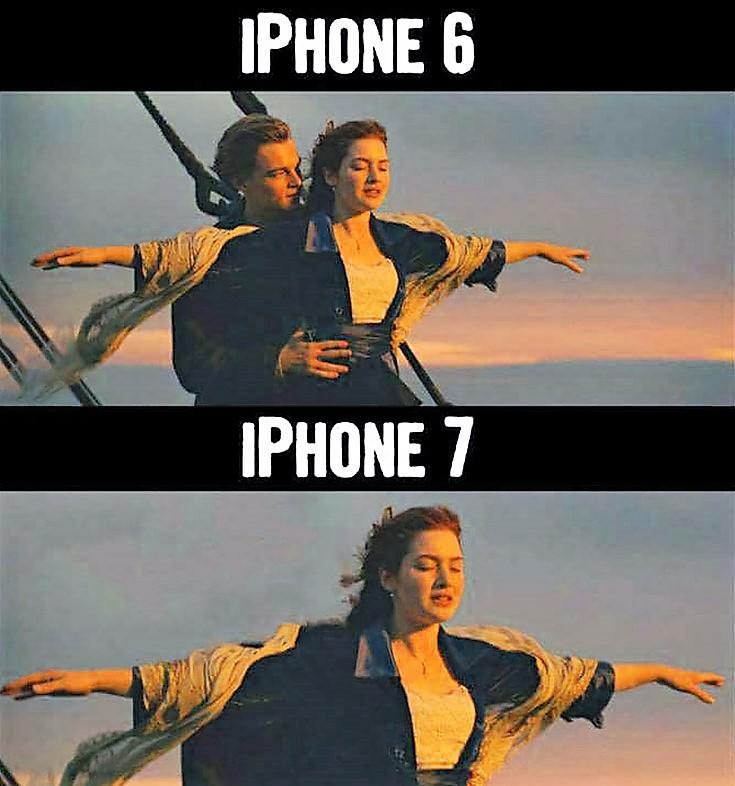 iphone 7 dongle meme