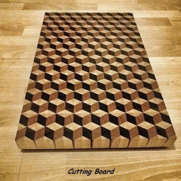 6 - Cool pic of a cutting board.