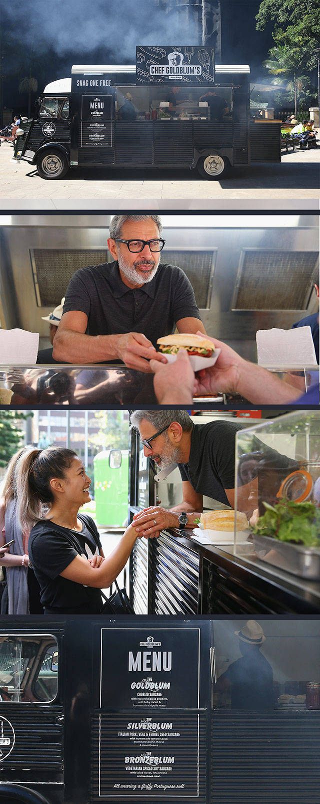 46 - Amazing food truck in LA that is Chef Goldblum and run by Jeff Goldblum