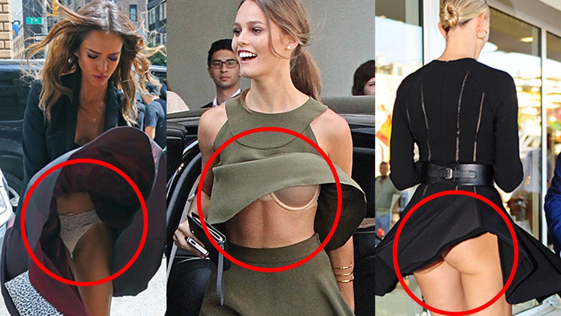 uncensored Hot malfunctions sports wardrobe