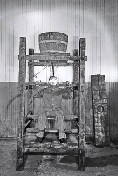 2 - Water Torture Used during the Spanish Inquisition, water torture isn't painful so much as psychologically damaging. The victim would be strapped to a chair where tiny droplets of water would fall on their forehead. Over a long period of time, the anxiety and stress would break the strongest person. MythBusters tested it out and concluded its effectiveness.
