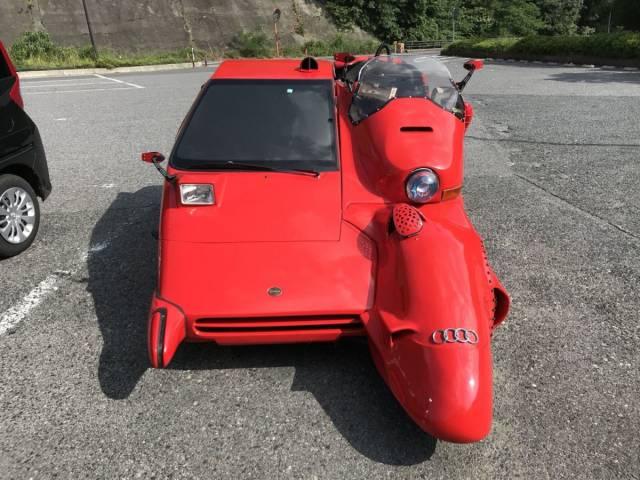 8 - half motorcycle half car vehicle