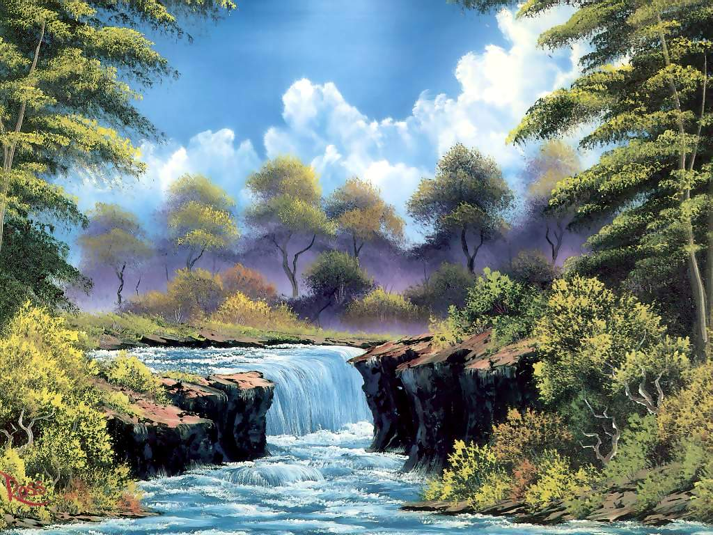 Bob ross paintings gallery ebaum 39 s world for Original oil paintings for sale by artist