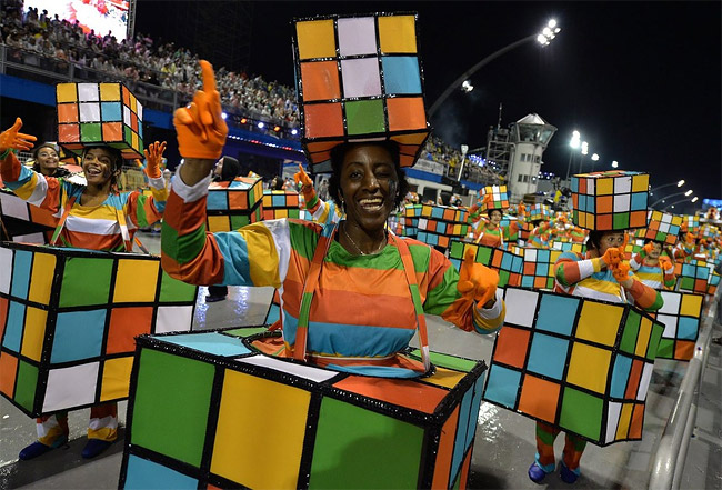 4 - Brazilian Carnival 2014