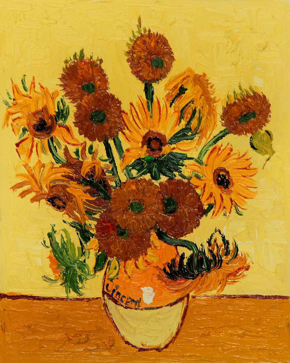Very expensive paintings gallery ebaums world 10 vase with fifteen sunflowers by vincent van gogh 745 million reviewsmspy