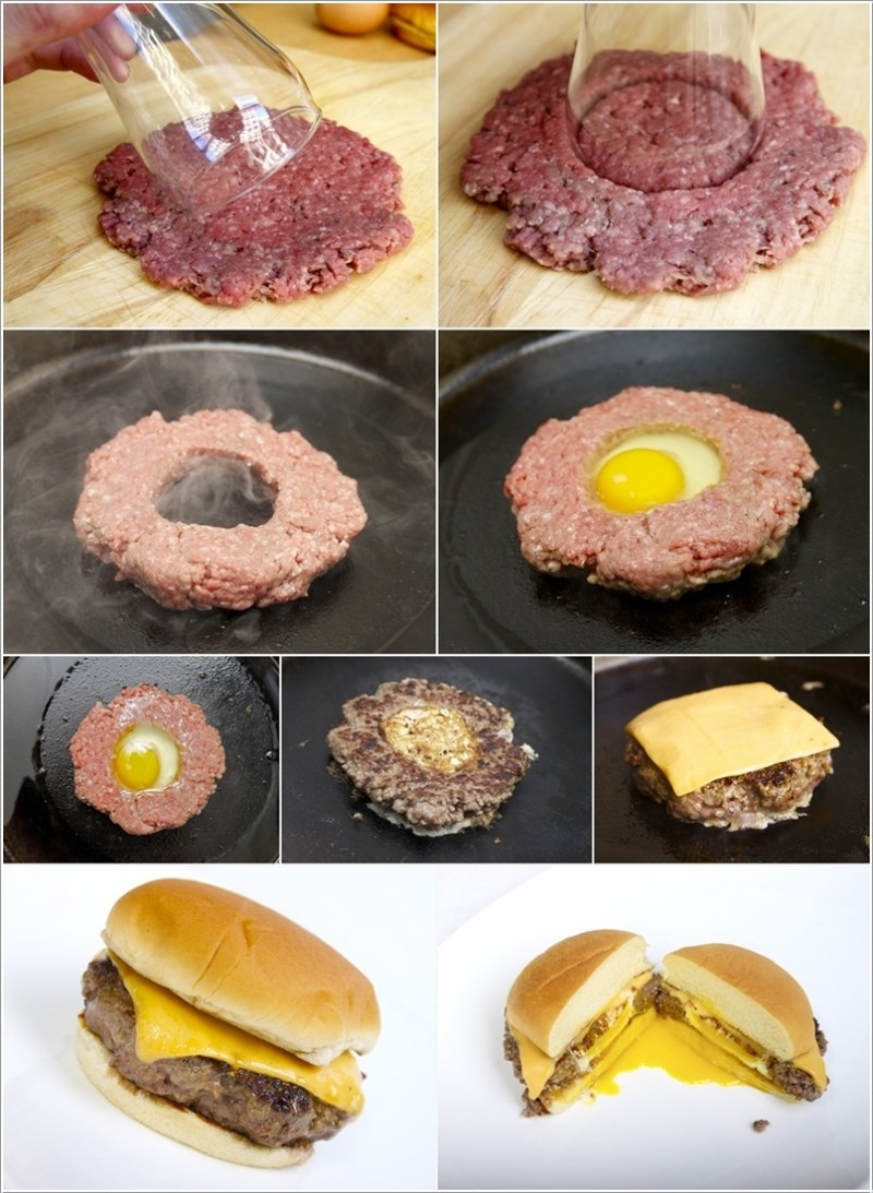 Cheeseburger With Fried Egg