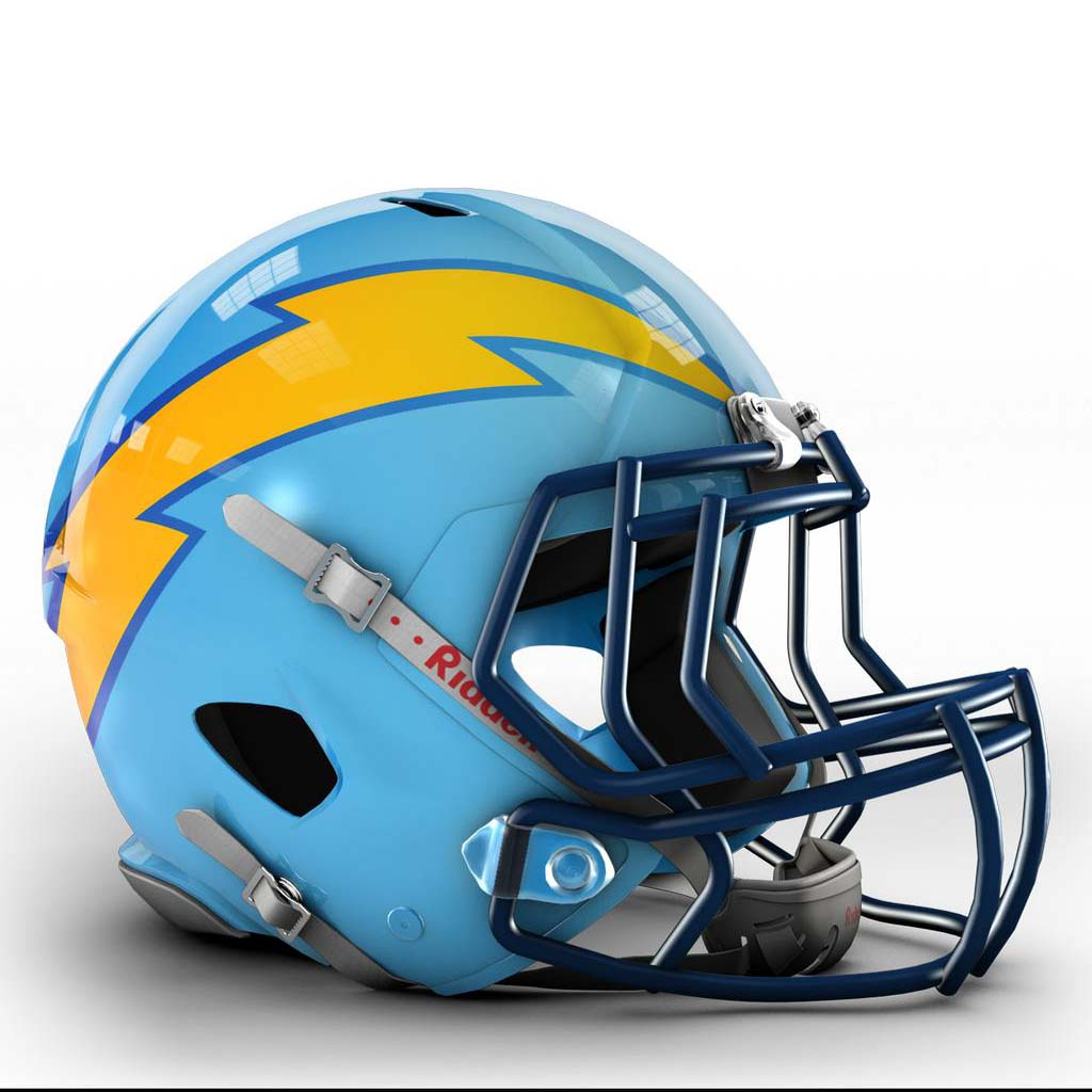 San Diego Chargers Arizona Cardinals: Cool NFL Concept Helmets By Dylan Young - Gallery