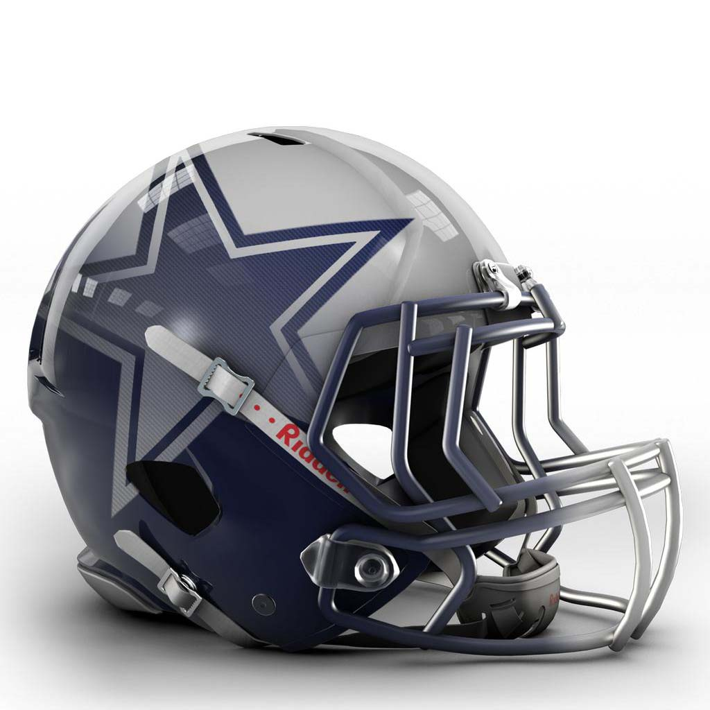 Nfl Concept Art Helmets 2048