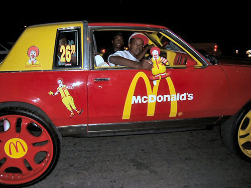 1 - You need Mcdonald's to sponsor your gang