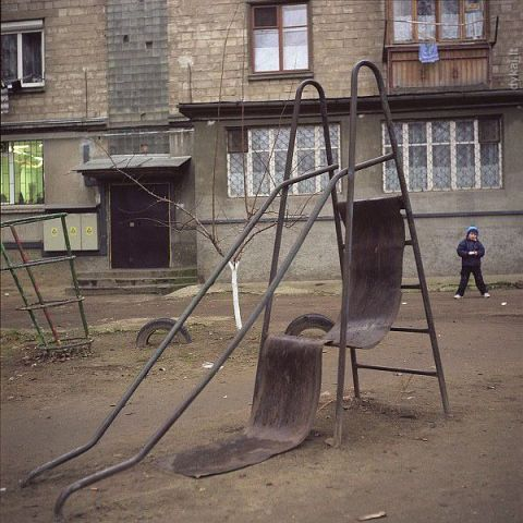 5 - The playground is not even safe for your kids to play at