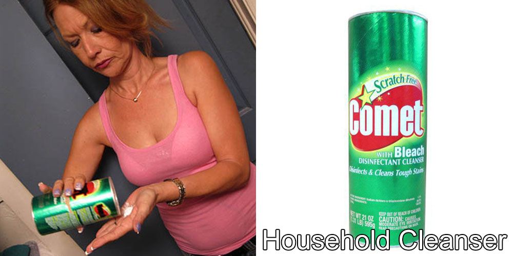 10 - Addicted to Household Cleanser, Crystal has been eating household cleanser everyday since she was twelve.