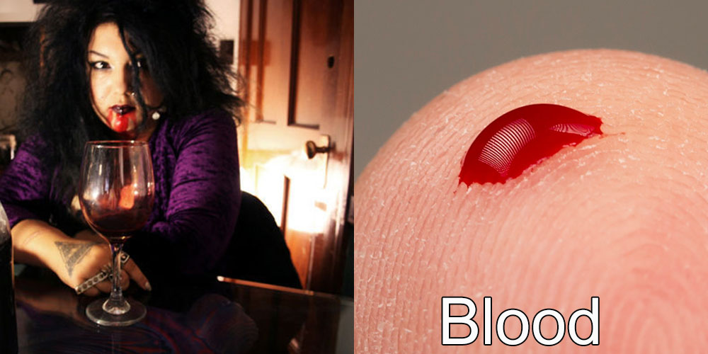 13 - Addicted to Drinking Blood, Michelle has been addicted to drinking blood for 15 years, both human and pig blood.