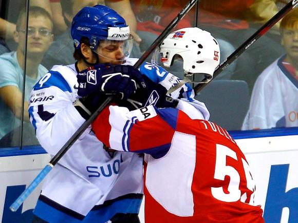 18 -  Headless hockey player?