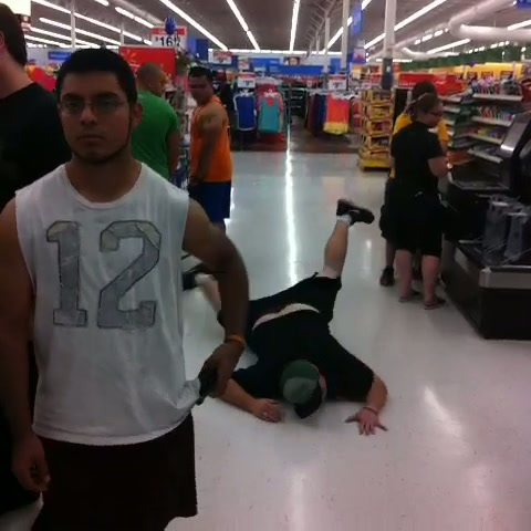 8 -  Only at Wal-Mart could this happen