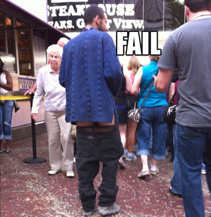 14 - Fashion Fail: Pants