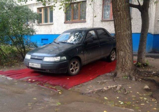 16 - 28 Pics to Prove How Much the Russians Love Their Carpets