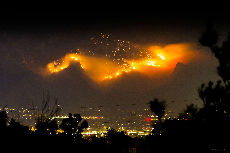 4 - A fire in Tuscon, AZ