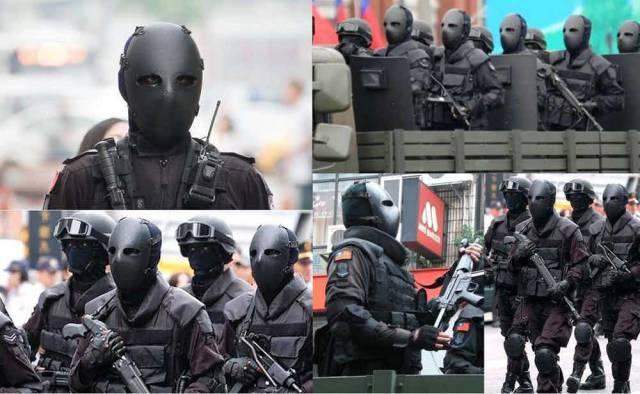 Most intimidating military uniform