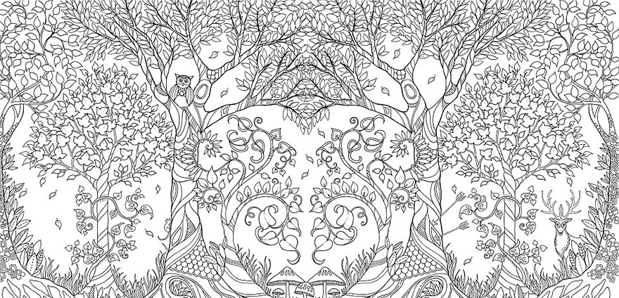 Artists Adult Coloring Books Sell Over A Million Copies