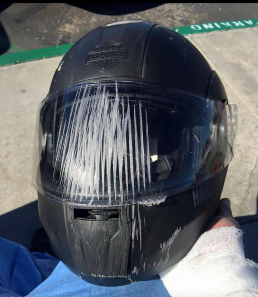 18 - Don't forget to wear your helmet!