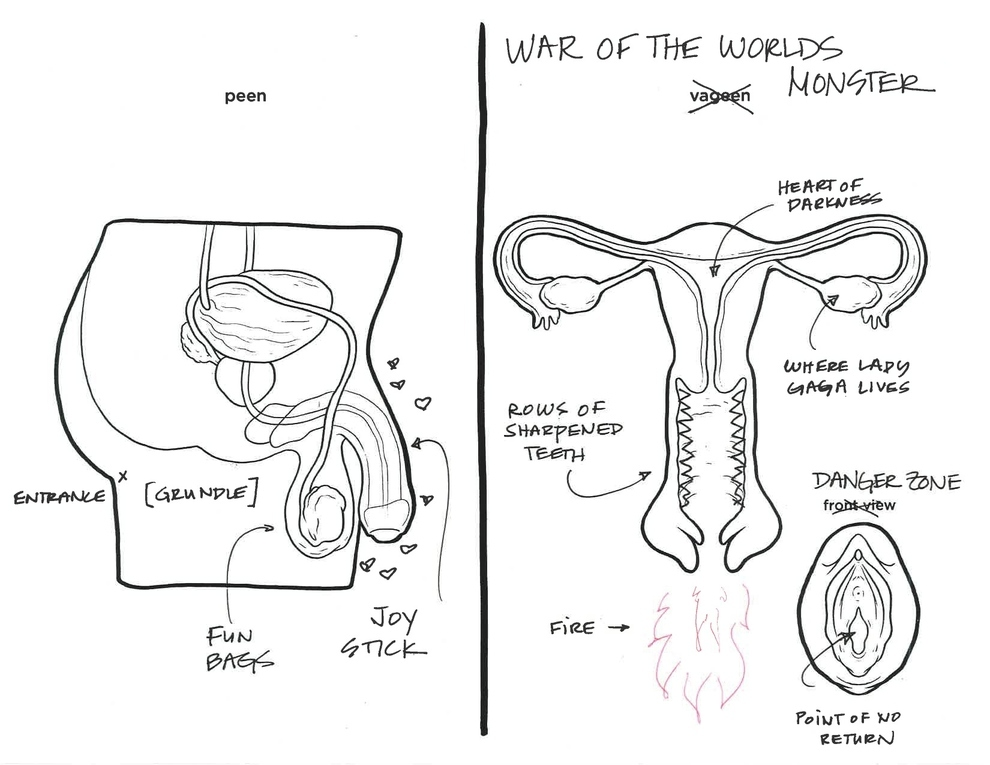 What Happens When You Ask Adults To Label Reproductive Parts ...
