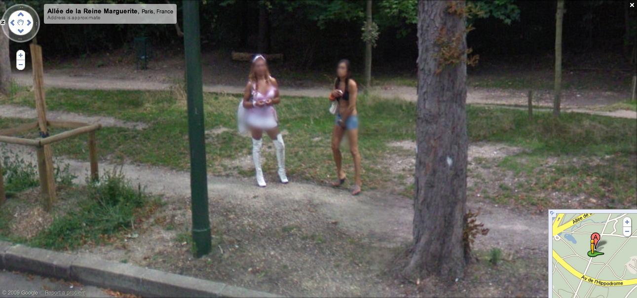 prostitute google maps street view