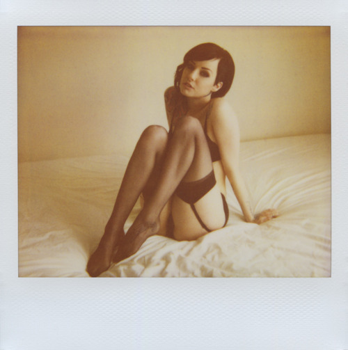 Hot sexy vintage polaroid