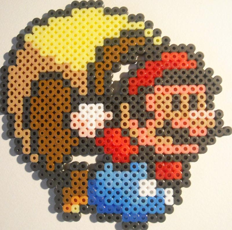 Nintendo Perler Bead Designs Gallery Ebaums World